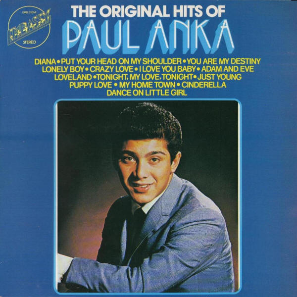 Anka, Paul The Original Hits