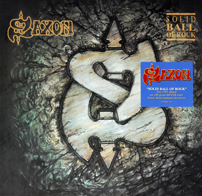 Saxon Solid Ball Of Rock Vinyl