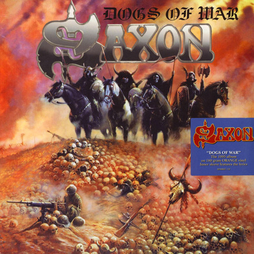 Saxon Dogs Of War Vinyl