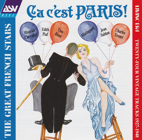 Various Ca C'est Paris! - The Great French Stars CD