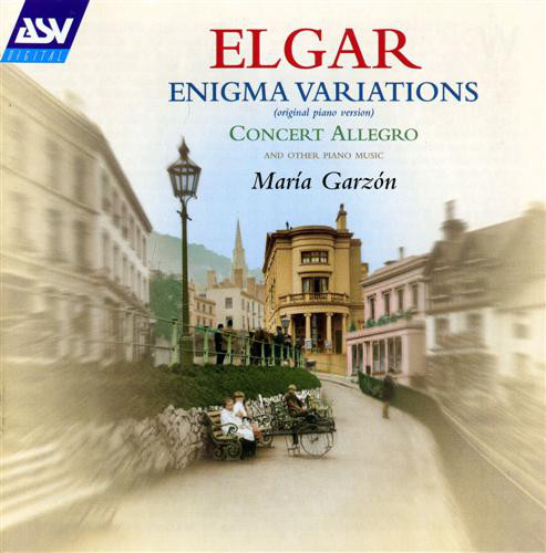 Elgar - Maria Garzon Enigma Variations (original Piano Version), Concert Allegro (and Other Piano Music)