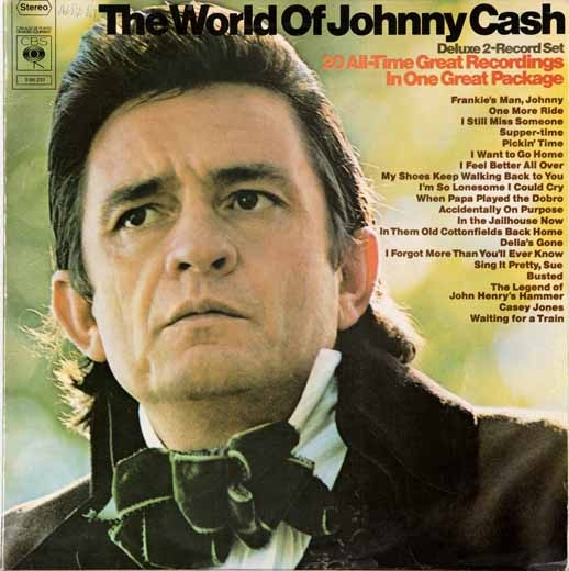 Cash, Johnny The World Of Johnny Cash