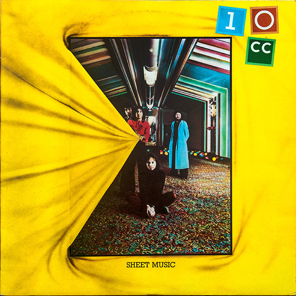 10cc Sheet Music Vinyl