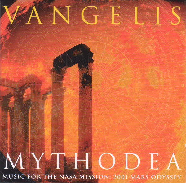 Vangelis Mythodea (Music For The NASA Mission: 2001 Mars Odyssey) CD