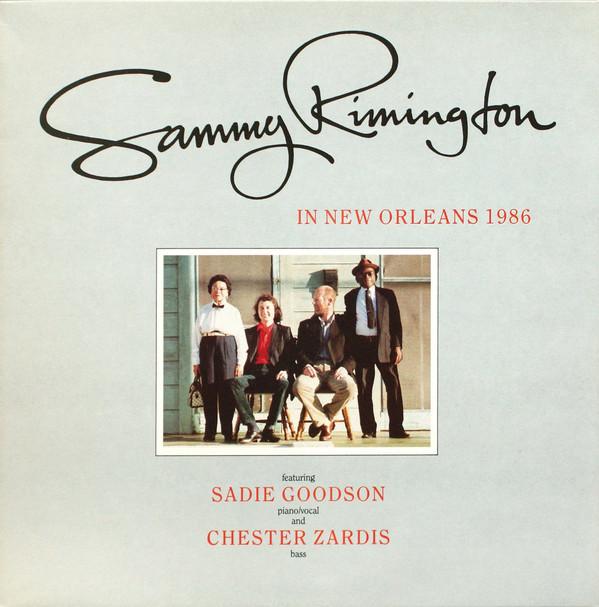 Rimington, Sammy Sammy Rimington In New Orleans 1986 Vinyl