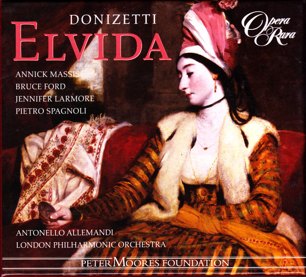 Donizetti - Spagnoli, Massis, Larmore, Ford, Antonello Allemandi Elvida Vinyl