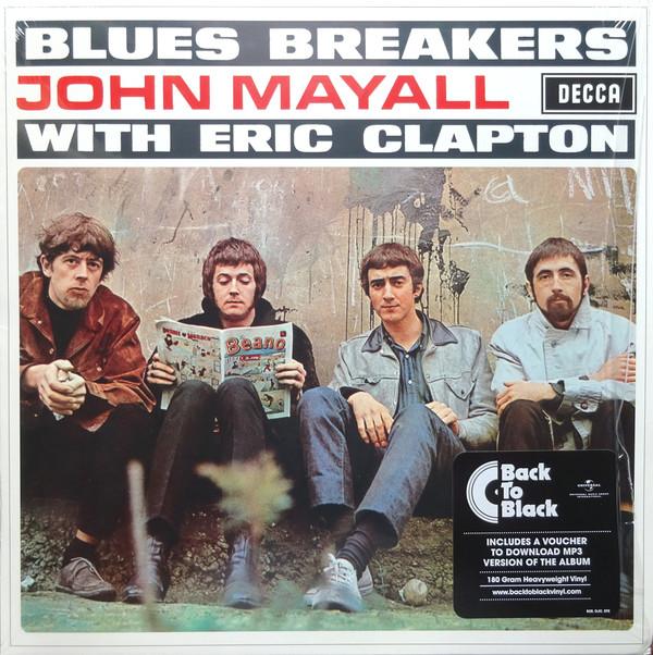 Blues Breakers John Mayall With Eric Clapton Vinyl