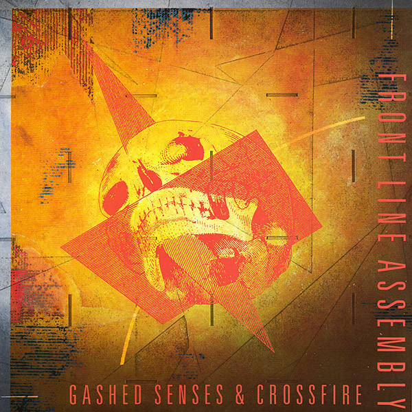 Front Line Assembly Gashed Senses & Crossfire Vinyl