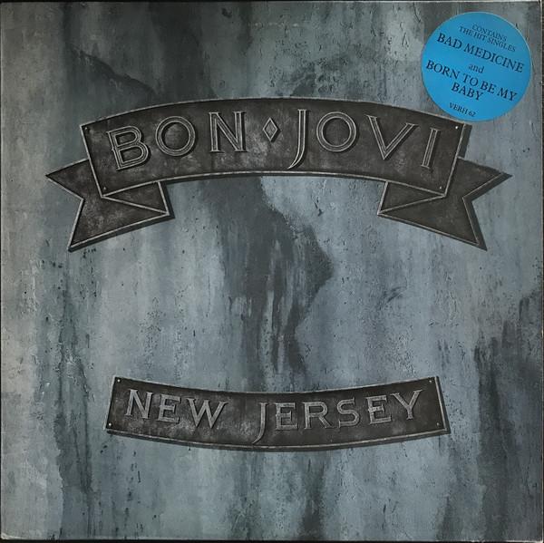 Bon Jovi New Jersey Vinyl