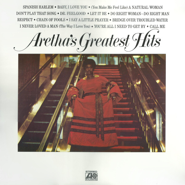 Franklin, Aretha Aretha's Greatest Hits Vinyl