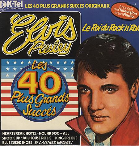 Presley, Elvis Les 40 Plus Grands Succès