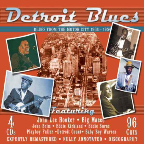 Various Detroit Blues: Blues From The Motor City 1938 - 1954 Vinyl