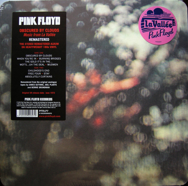 Pink Floyd Obscured By Clouds Vinyl
