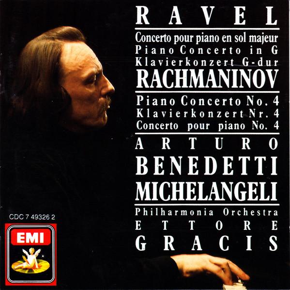 Ravel / Rachmaninov - Arturo Benedetti Michelangeli, Ettore Gracis Piano Concertos Vinyl