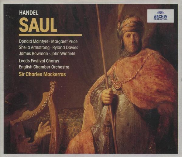 Handel - Leeds Festival Chorus, English Chamber Orchestra, Sir Charles Mackerras Saul Vinyl