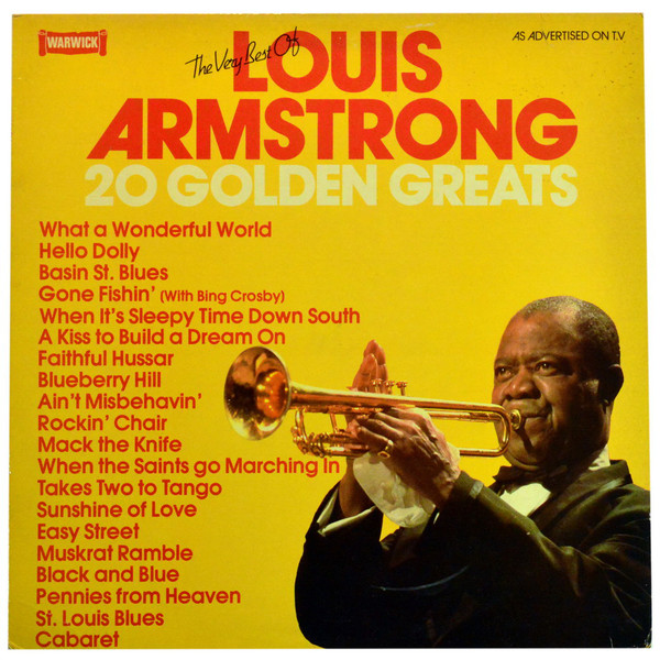 Armstrong, Louis The Very Best Of Louis Armstrong 20 Golden Greats