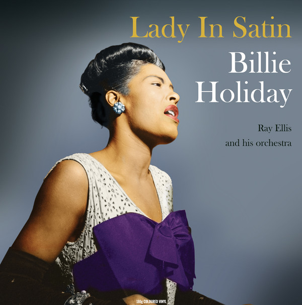 Holiday,  Billie Lady In Satin  Vinyl