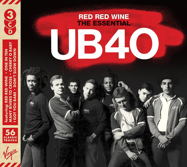 UB40 Red Red Wine The Essential UB40 CD