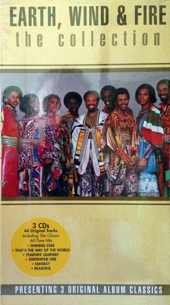 Earth, Wind & Fire The Collection Vinyl