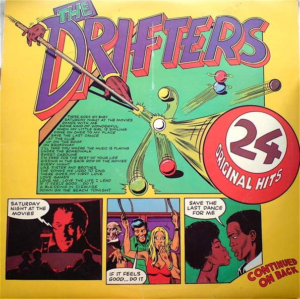 The Drifters The Drifters 24 Original Hits Vinyl