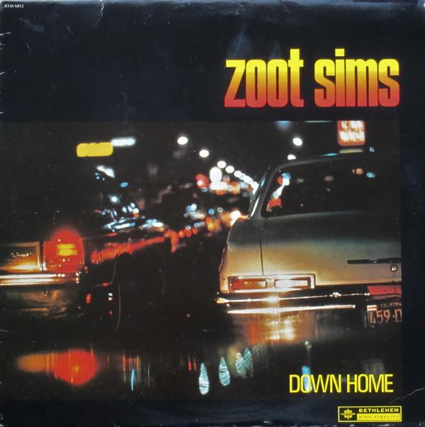Zoot Sims Down Home Vinyl