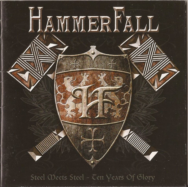 HammerFail Steels Meets Steel - Ten Years Of Glory CD