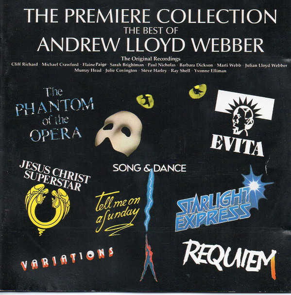 Webber, Andrew Lloyd The Premiere Collection - The Best Of Andrew Lloyd Webber Vinyl