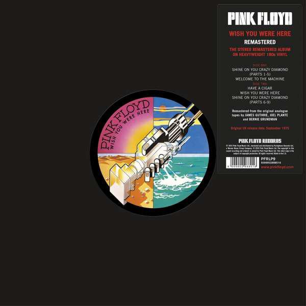 Pink Floyd Wish You Were Here Vinyl