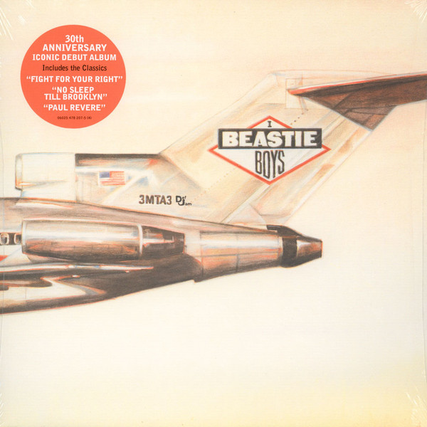 Beastie Boys Licensed To Ill  Vinyl