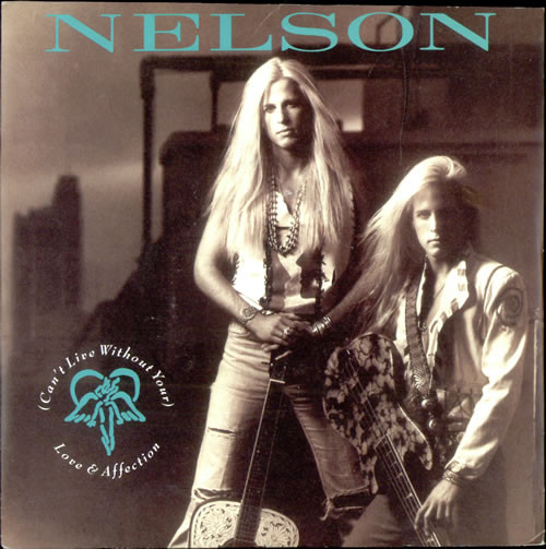 Nelson (I Cant Live Without Your Love) Love & Affection Vinyl