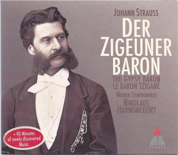 Strauss - Nikolaus Harnoncourt, Wiener Symphoniker Der Zigeunerbaron