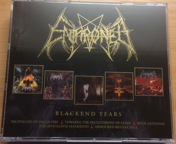 Enthroned The Blackend Years Vinyl