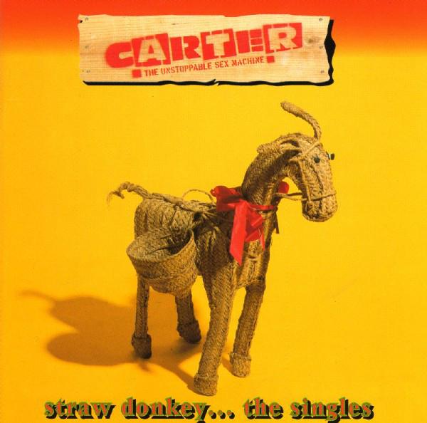 Carter USM Straw Donkeys - The Singles CD