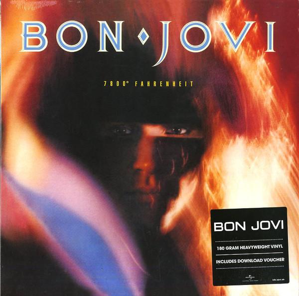 Bon Jovi 7800° Fahrenheit Vinyl