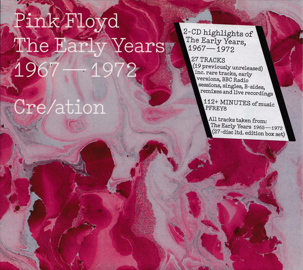 Pink Floyd Cre/ation - The Early Years 1967 - 1972