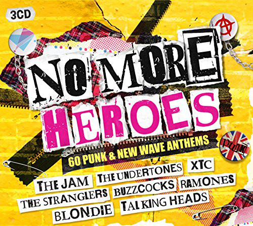 Various No More Heroes - 60 Punk & New Wave Anthems CD