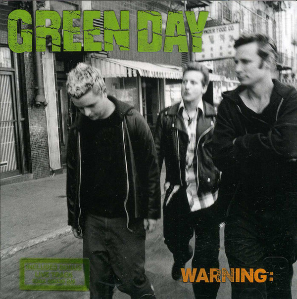 Green Day Warning: CD