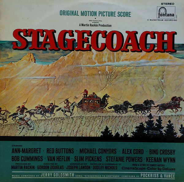Goldsmith, Gerry Stagecoach Vinyl