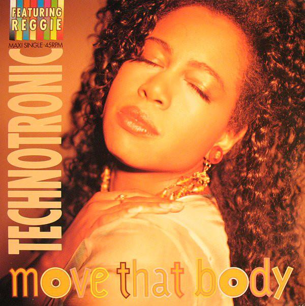 Technotronic Featuring Reggie Move That Body Vinyl