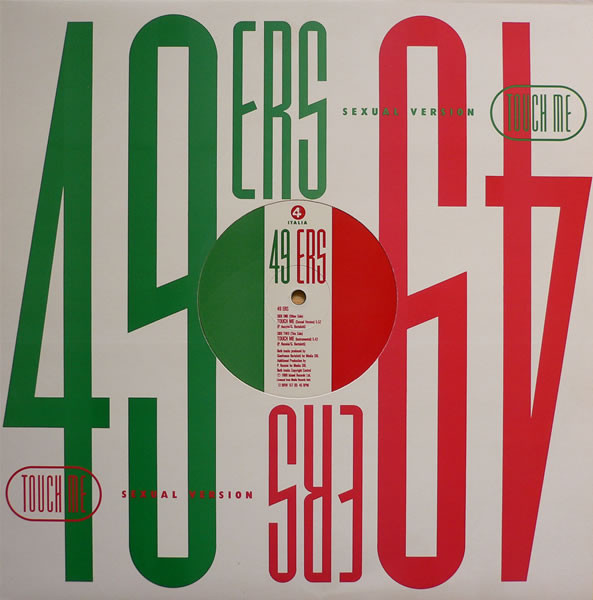 49ers Touch Me (Sexual Version) Vinyl