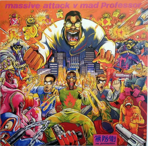 Massive Attack V Mad Professor No Protection Vinyl