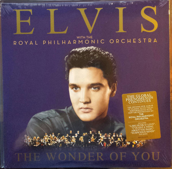 Presley, Elvis & The Royal Philharmonic Orchestra The Wonder Of You