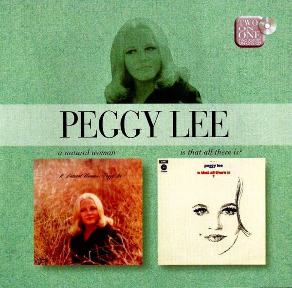Lee, Peggy A Natural Woman / Is That All There Is? Vinyl