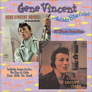 Gene Vincent & His Blue Caps Rocks & The Blue Caps Roll / A Gene Vincent Record Date CD