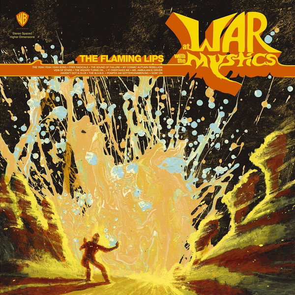 Flaming Lips At War With The Mystics CD