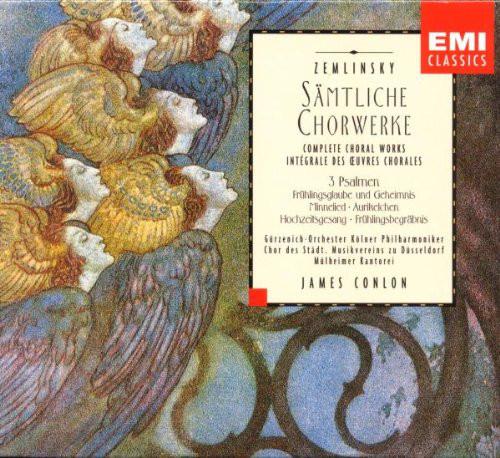 Zemlinsky - James Conlon Samtliche Chorwerke (Complete Choral Works) Vinyl