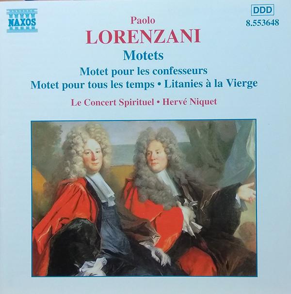 Lorenzani – Le Concert Spirituel, Hervé Niquet Motets Vinyl
