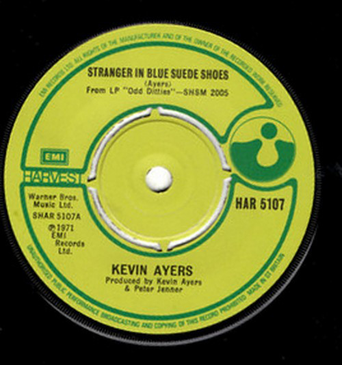 Ayers, Kevin Stranger In Blue Suede Shoes  Vinyl