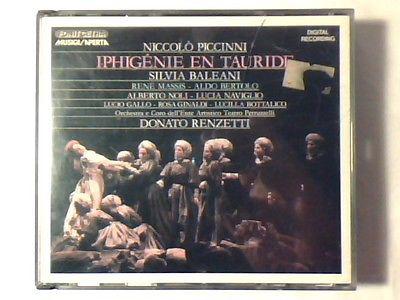 Piccinni - Orchestra E Coro Dell'Ente Artistico Teatro Petruzzelli Condotto Da Donato Renzetti Iphigenie En Tauride