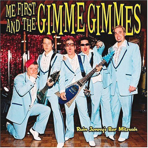 Me First And The Gimme Gimmes Ruin Jonny's Bar Mitzvah CD